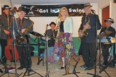 Delapina Swing at Steeple Morden