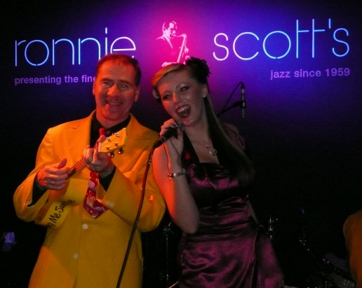 Hayley & The Jive Aces at Ronnie Scott's